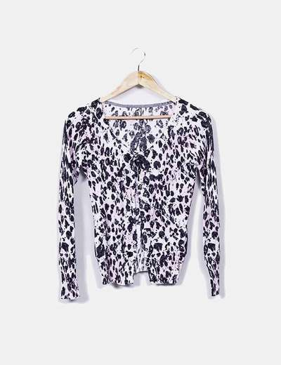 Suéter animal print Guess