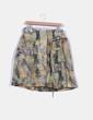 Falda plisada estampado tropical detalle bolsillos y cierre central Bimba&Lola