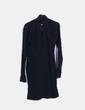 Ouverture vestimentaire avec le clivage noir Atos Lombardini