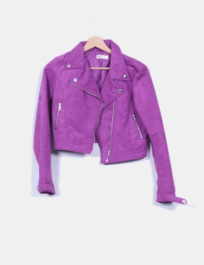 amp;m Cazadora descuento H 62 Corta Violeta Micolet Color HRwcB4q17