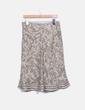 Falda midi estampada Punto Roma