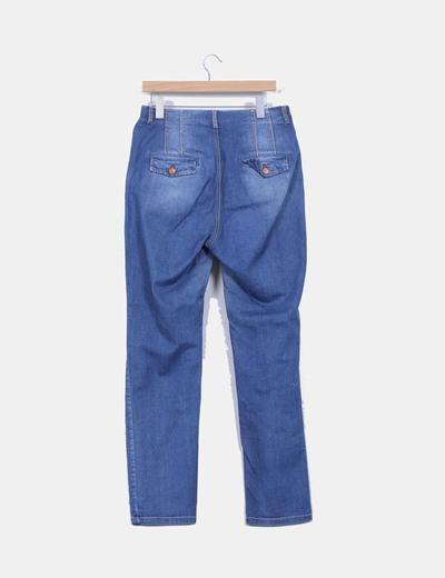 Pantalon baggy demindetalle bolsillos