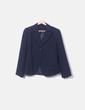 Conjunto de falda y blazer azul marino NoName