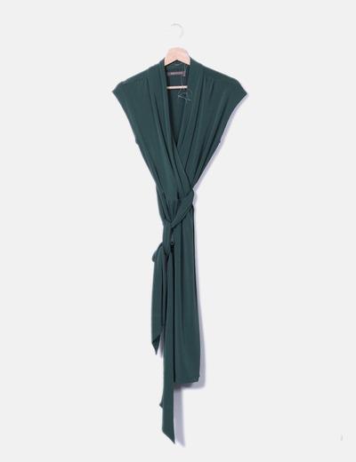 a7a5dcb9c223c Tex Robe verte midi (réduction 72%) - Micolet
