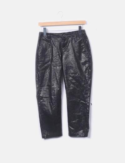 Pantalón negro efecto glitter Custo Barcelona