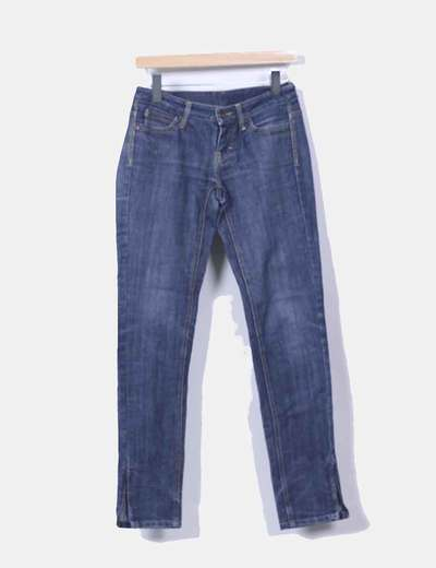 Jeans denim pitillo Mango