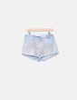 Shorts denim strass dorados H&M