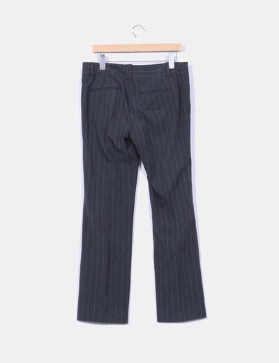 Pantalon de pinzas con rayas diplomaticas