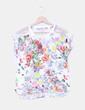 Camiseta combinada estampado multicolor Stradivarius