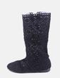 Bota crochet negro NoName