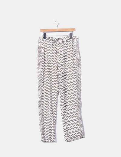 Pantalon coupe droite Zendra