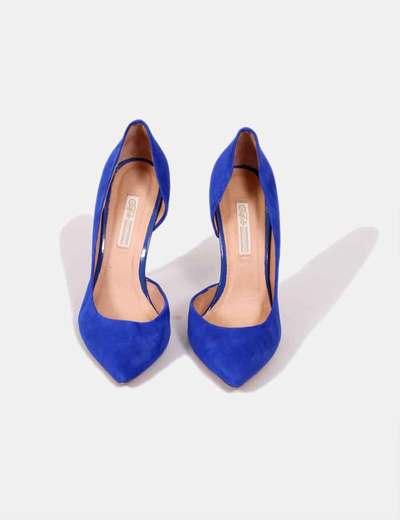 Tacón Zapatos Tacón Klein Zapatos Azul De Zapatos De De Klein Azul TFlc3K1J