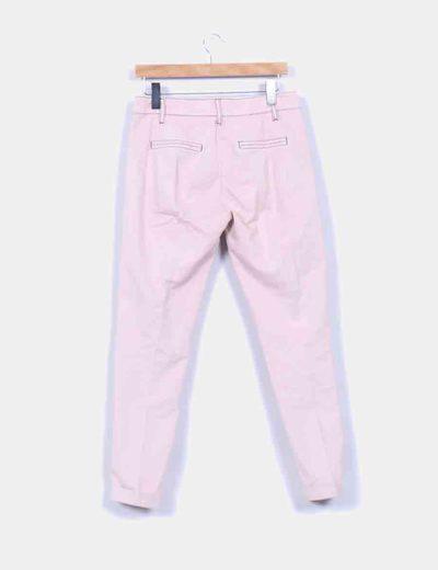 NoName Pantalón de pinzas rosa (descuento 95%) - Micolet 222317da5118