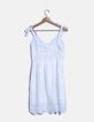 Vestido guipur blanco NoName