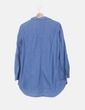 Vestido denim azul Massimo Dutti