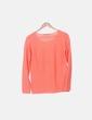 Jersey tricot naranja Kiabi