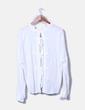 Blusa blanca escote espalda Stradivarius