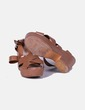 Sandales marron compensées Lefties