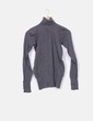 Jersey cuello gris oscuro Lefties