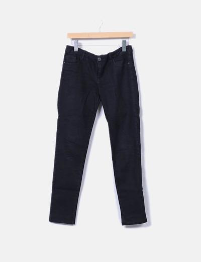 Pantalón pitillo negro Shana