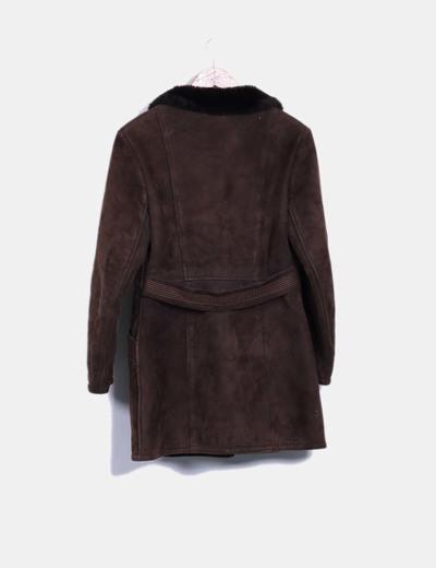 Abrigo marron