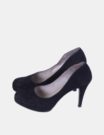 Zapato negro de terciopelo  Marian