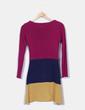 Vestido de rayas tricolor By lu