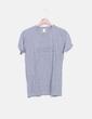 Camiseta gris print letras NoName