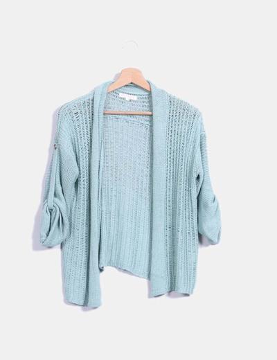 Cárdigan tricot verde Carven