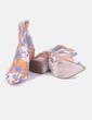 Botín de punta floral Asos