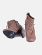 Botines marrones con cordones Top Or