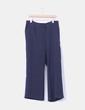 Pantalón texturizado azul marino  NoName