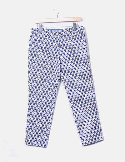 Pantalons multi-couleurs deux texturé Bimba&Lola