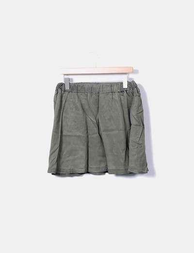 Mini-jupe caoutchouc Vero Moda