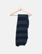 Bufanda de lana rayas azules y verdes Springfield