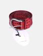 Cinturón rojo polipiel NoName