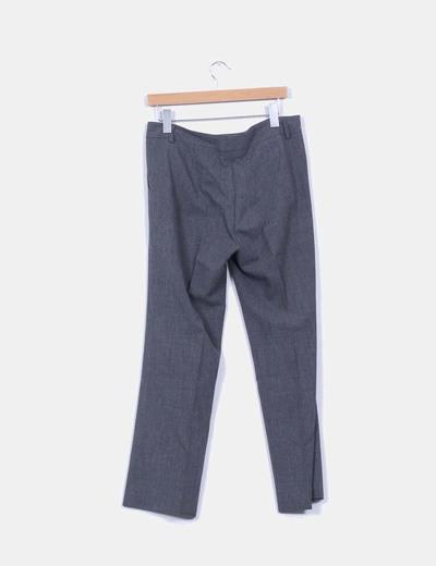 Pantalon de traje gris marengo
