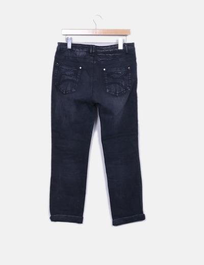 Jeans denim gris recto
