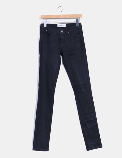 Pantalon noir ajusté Vero Moda