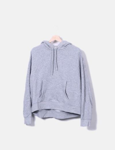 Hm Basic Sweatshirt Mit Kapuze Rabatt 71 Micolet