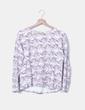 Pull imprimé tricot Shana