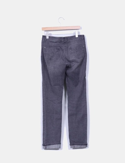 Jeans denim gris recto
