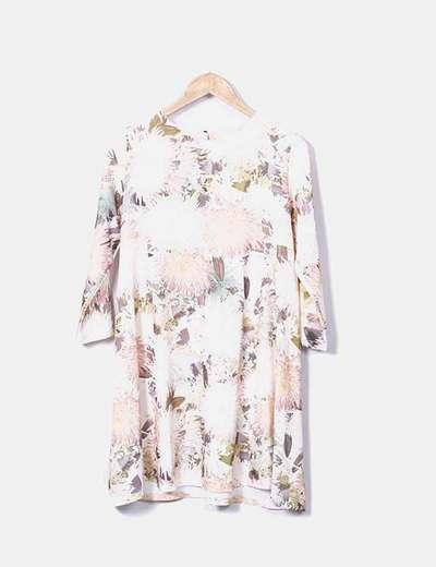 Robe courte Blanco Roto