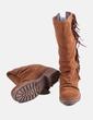 Bota marrón con flecos Coolway