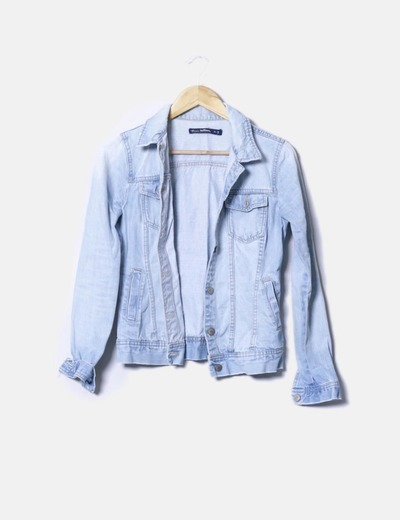Chaqueta denim claro Lefties