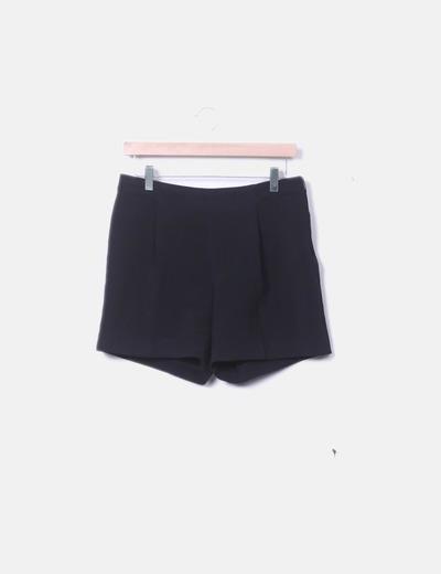 Short chino negro