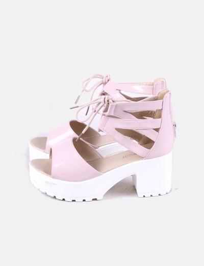 Sandales à talons koi