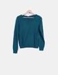 Top tricot verde H&M