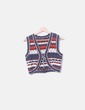Chaleco tricot colores Massimo Dutti