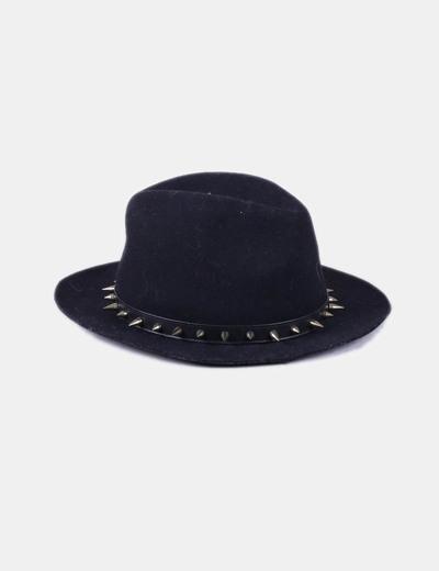 Zara Black hat golden studs detail (discount 64%) - Micolet 37eca449411